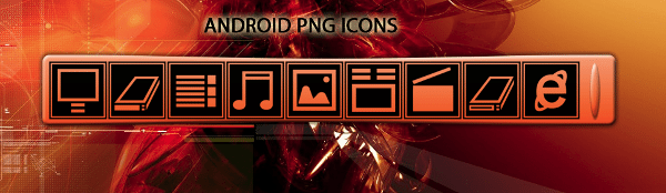 Android PNG Icons
