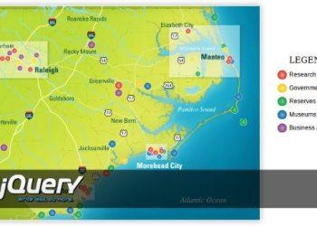 Mapa interactivo con jQuery