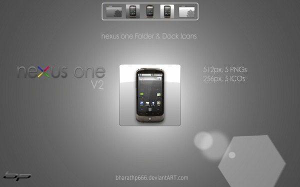 nexus one - Dock Icons