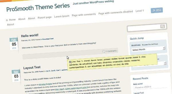 prosmooth-series-theme-wordpress