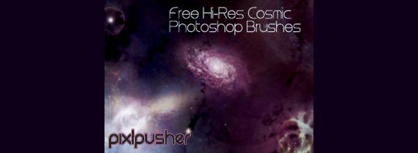 free cosmic brushes