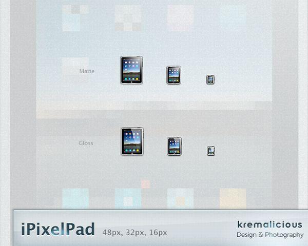 iPad pixel pad