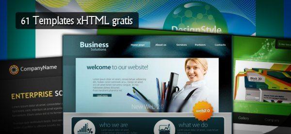 Templates xHTML gratis