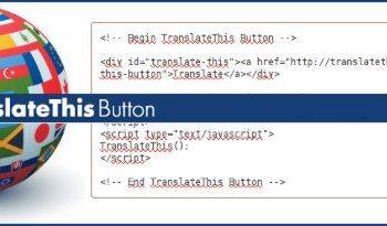 TranslateThis Button - Botón Javascript para traducción