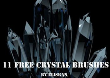 Crystal free brushes