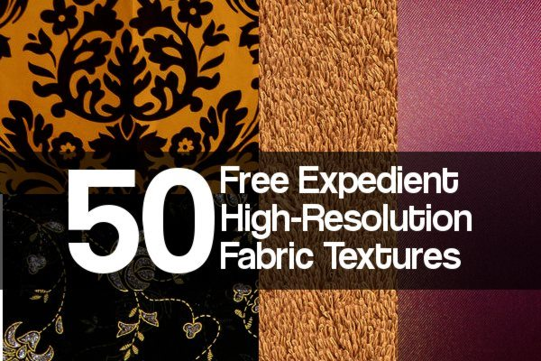 Free Expedient High-Resolution Fabric Textures