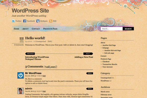 Koi-free-WordPress-theme