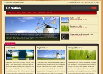Liberation-free-wordpress-theme