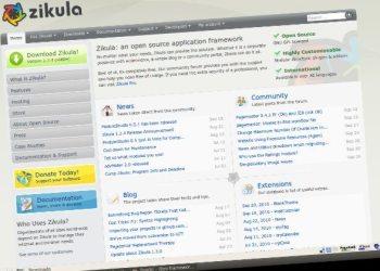 Zikula framework PHP