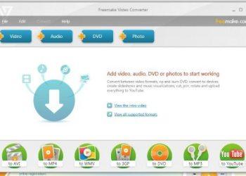 Freemake Video Converter programa para Windows para hacer videos