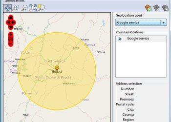 Geolocater extension para geolocalización para Firefox