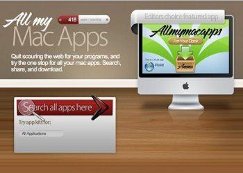 All my Mac apps - Directorio de aplicaciones para Mac OS X