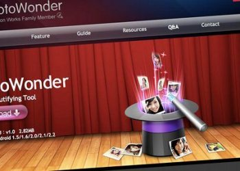 PhotoWonder, editor de fotos para Android