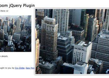 Easy Image Zoom - jQuery Plugin