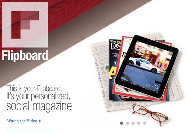 Flipboard lector de noticias para el iPad y el iPhone