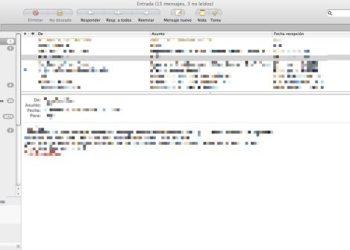MailTab interfaz