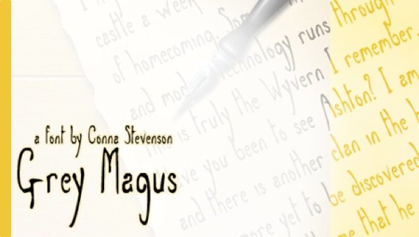 Grey Magus free font