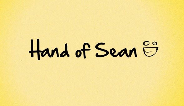 Hand of Sen free font