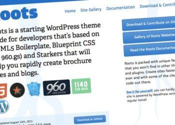 Roots, framework para WordPress para crear themes