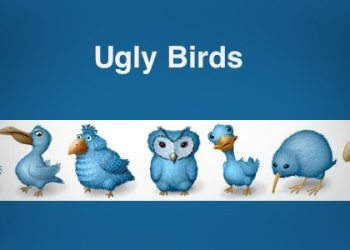 Ugly Birds - free icon set