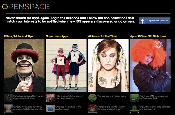 Openspace - tienda de aplicaciones para iOS