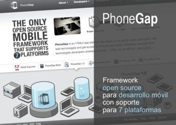 PhoneGap framework para desarrollo móvil