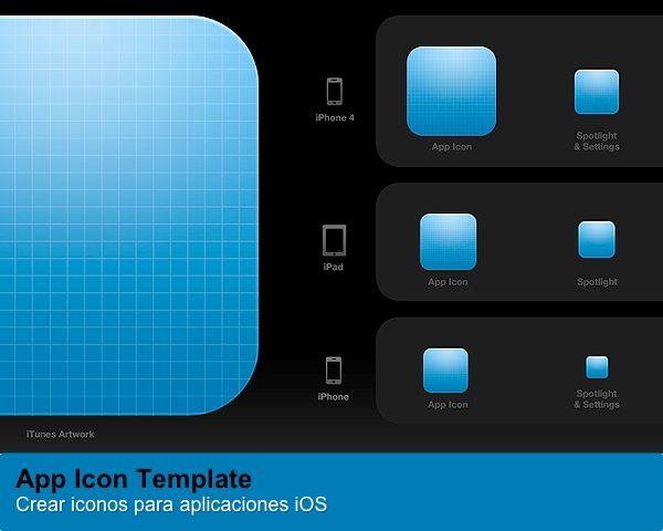 Crear iconso para aplicaciones iOS