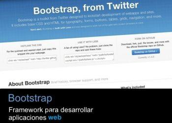 Bootstrap - framework para desarrollo web
