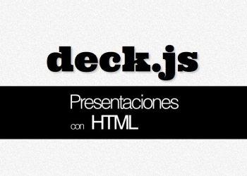 Deck.js crea presentaciones con HTML5