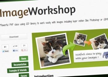 ImageWorkshop clase PHP para trabajar con imágenes