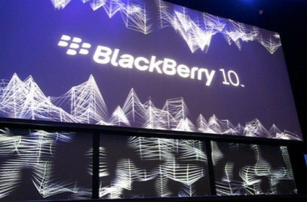 Evento lanzamiento de BlackBerry 10