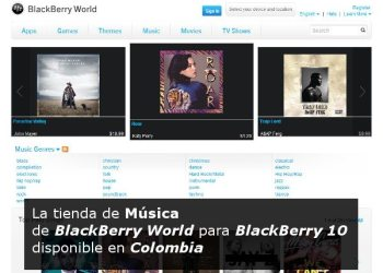 BlackBerry World Music