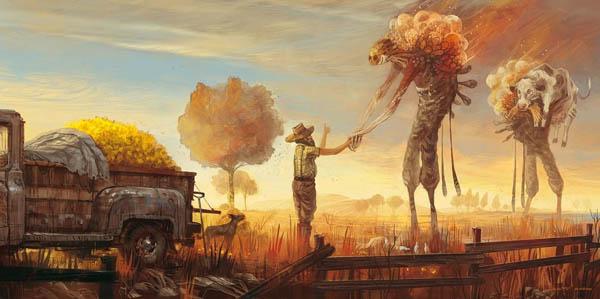 Don T Trust Girl Wallpaper 40 Beautiful Examples Of Landscape Digital Paintings