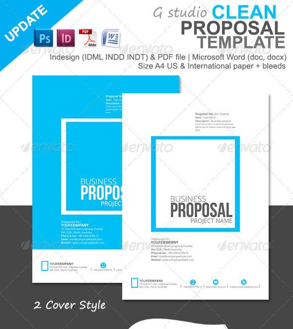 proposal layout templates