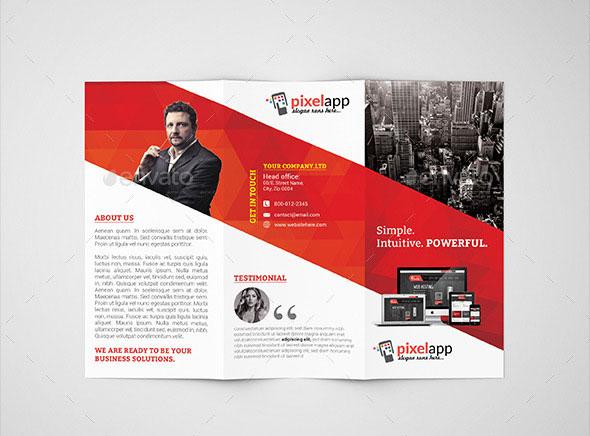 45 Best PSD Tri Fold Brochure Templates Pixel Curse