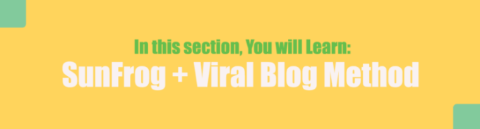 Sunfrog & Viral Blog Strategy