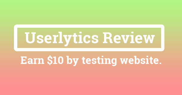 Userlytics Review