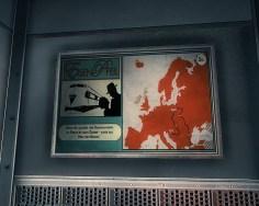 """""""Reisen sie luxuriös von Konstantinopel via Berlin bis nach Zagreb - durch das Herz der Nation"""". Bloß ist das Herz der Nation (Berlin) auf der Karte eher in der Nähe von Lódz."""