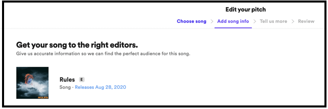 Best Practices: Pitching in Spotify for Artists