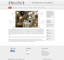 Bella Vita - Web Design