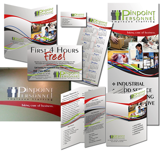 Pinpoint Personnel Marketing Materials