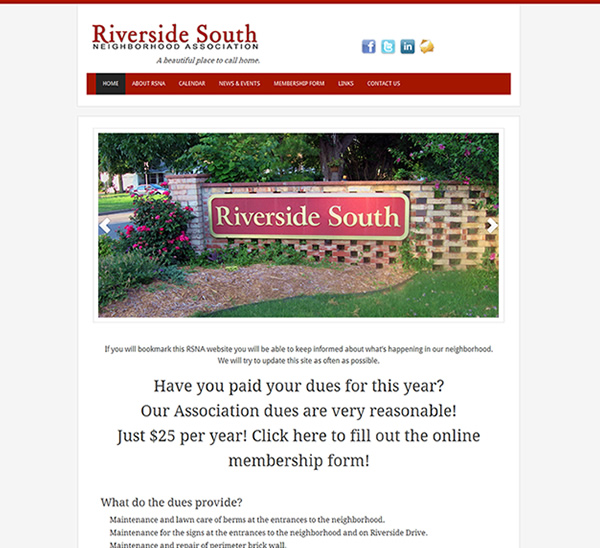 Riverside South Neighborhood Association