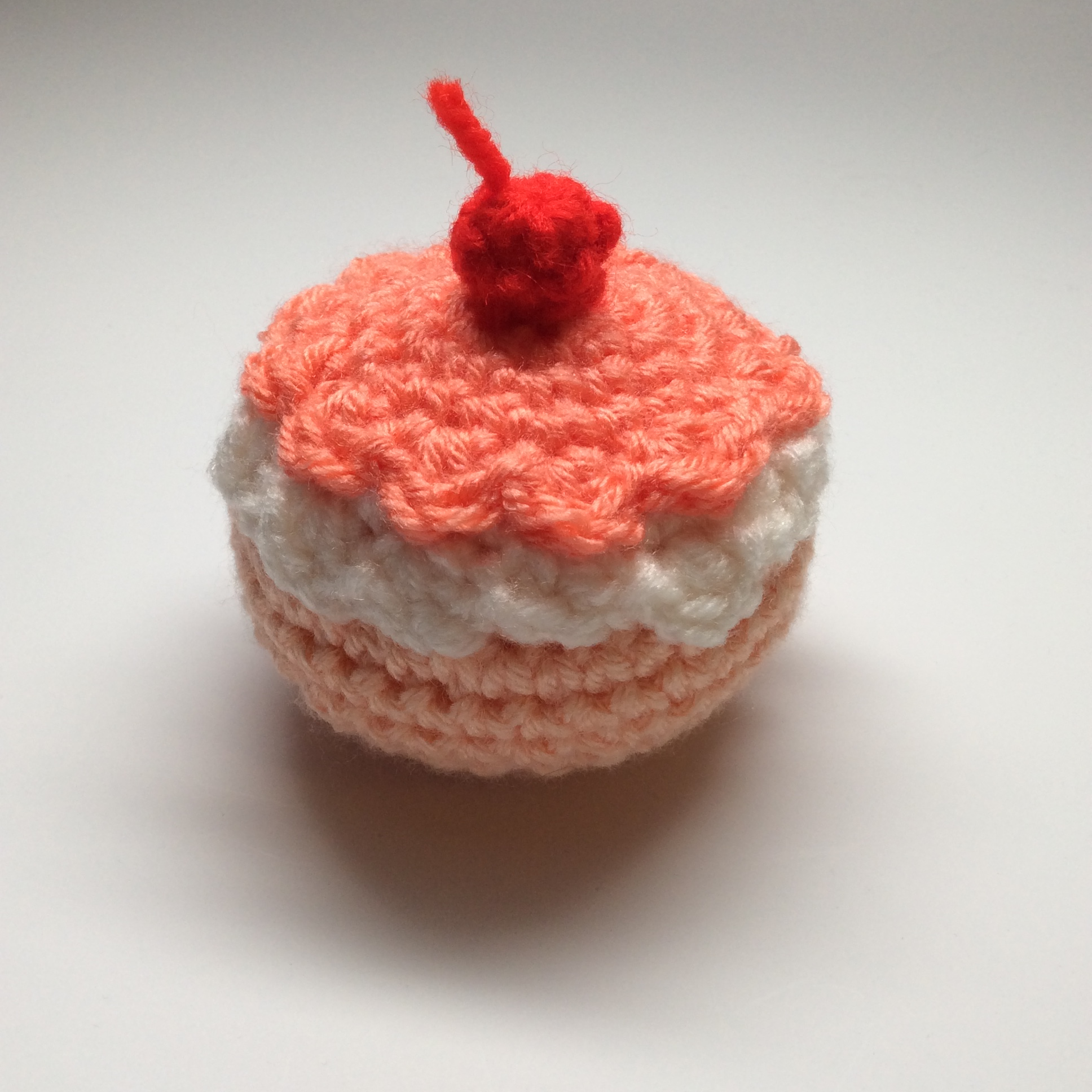 So adorable, with a cherry on top!