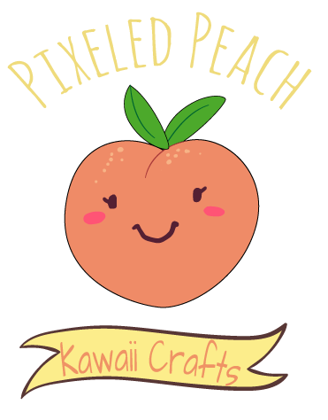 Pixeled Peach
