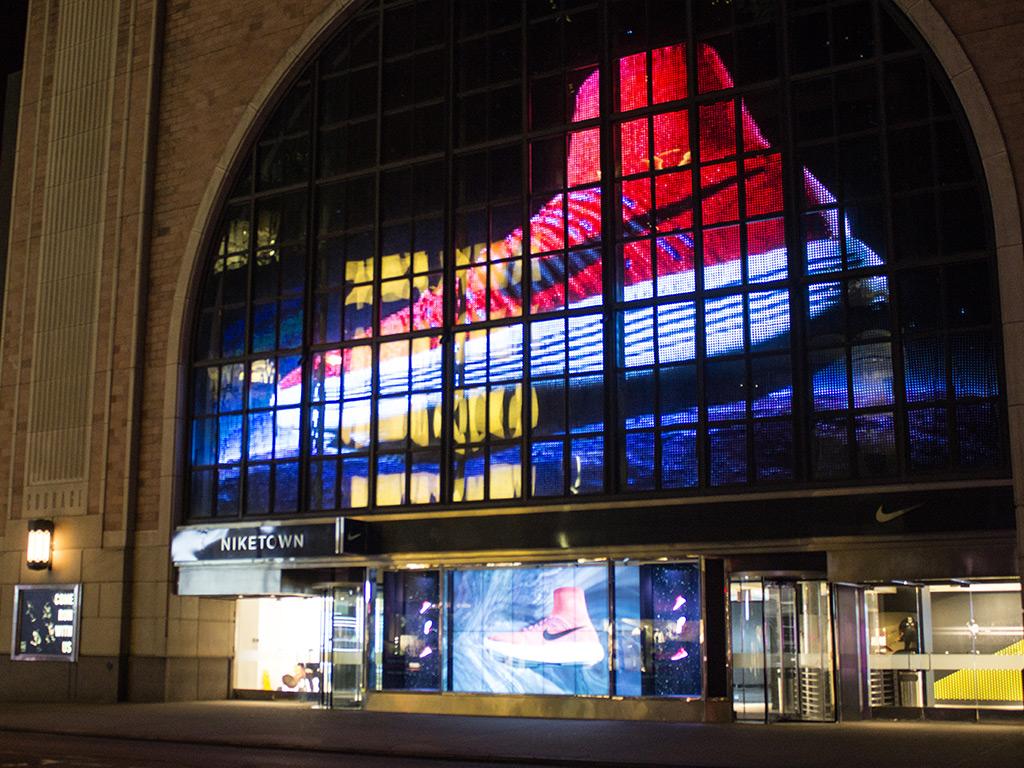 Nike Town  New York City  Best LED Display Screen