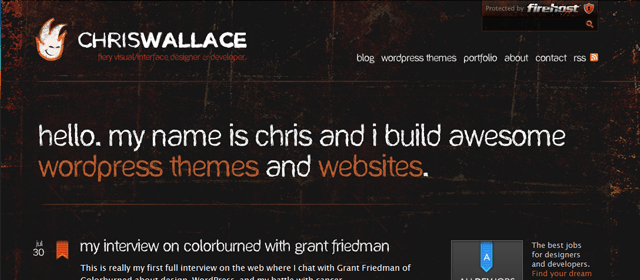 Chris Wallace Website