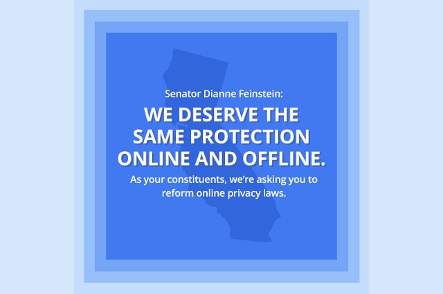 We deserve the same protection online and offline.