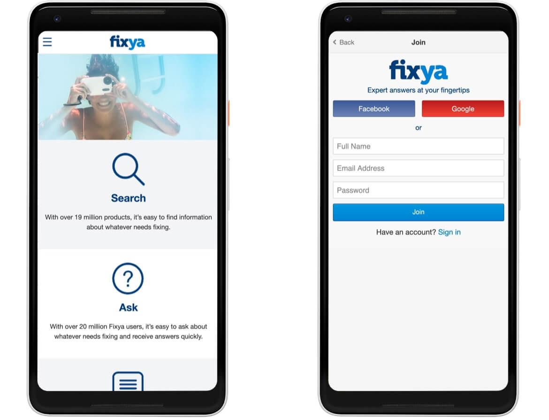 Fixya Mobile