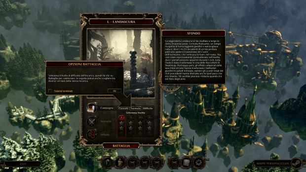 Ogni mappa è arricchita da varie opzioni di difficoltà e un ricco background