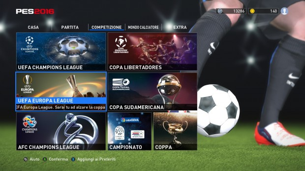 PES realizza sogni, tipo l'Inter in Champions league.